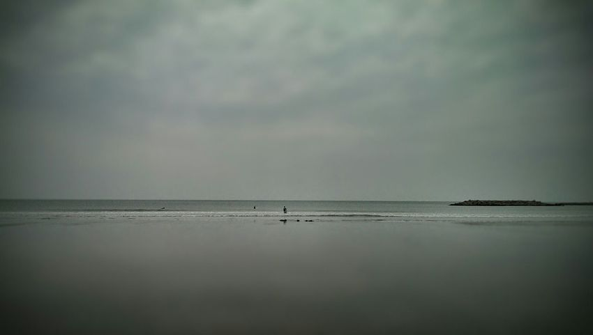 Beach Life Borth, Wales Borth ❤ My Son!! Surfer Life Is A Beach Surfers Flat Surflife Surfing Life Distance View Times Gone By Wales You Beauty Flatness Empty Space Grey Gray Gray Day. Empty Beach Flat Sea 2