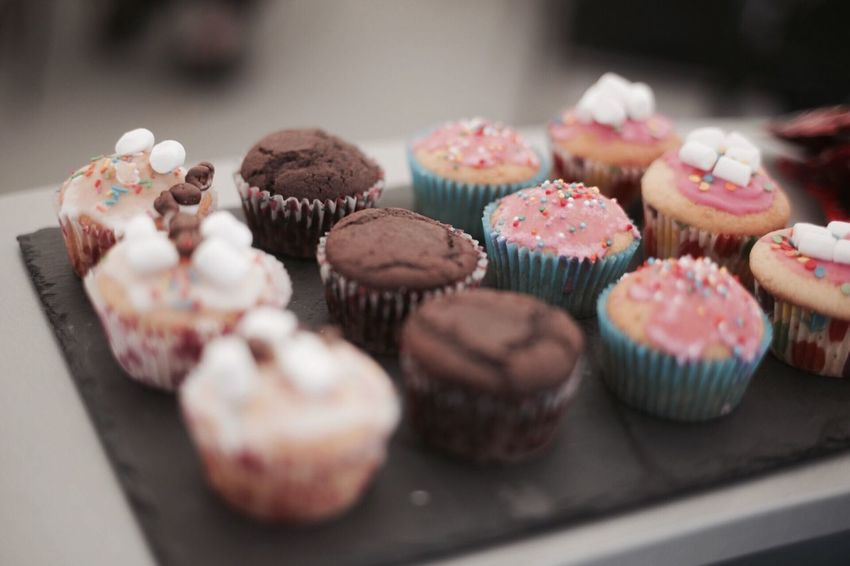 Cupcake Indulgence Sweet Food Food And Drink Indoors  Dessert Temptation Variation Unhealthy Eating Table Food No People Cake Close-up Macaroon Freshness Ready-to-eat Day