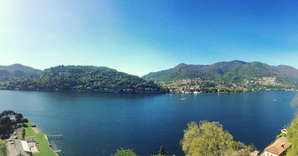 Como Comolake Lake Landscape