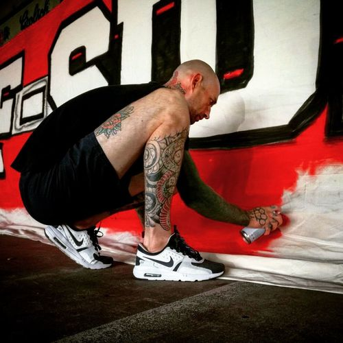 Nike Airmax Zero The One Before The One Tat Tattoos. Snakeprint. Graffiti Living My Life Tattoos Tattoo Tattooed