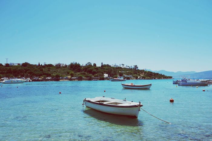 Water Sea Blue Beach Yacht Day Harbor Vacations Travel Destinations Nature Clear Sky Transportation Boat Greece Neighborhood Map Sommergefühle