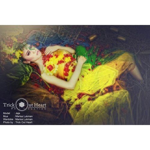 Jeje Fullcollour Trickoutheart Portopolio Kain artphoto indonesiasidoarjo