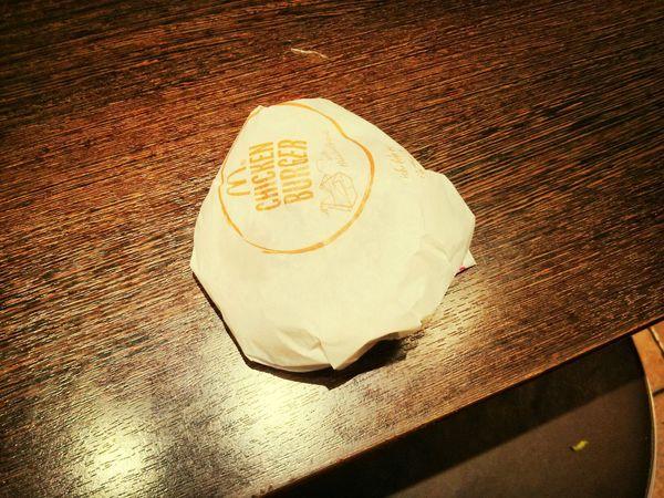 Fast Food Chicken Burger