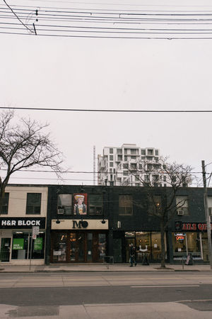 Architecture Building Exterior Built Structure City Day No People Outdoors Queen West Sky Toronto