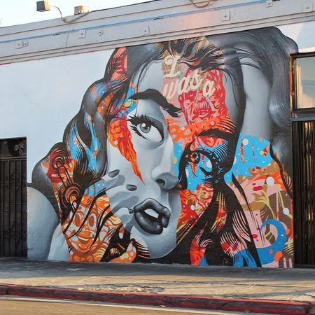 Street Art Graffiti Mural Los Ángeles