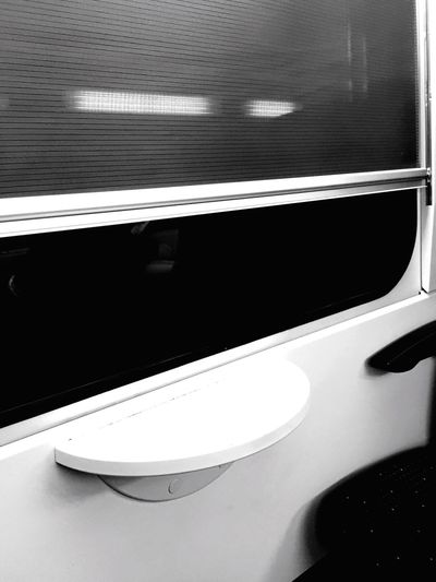 Black and white Abstract transport