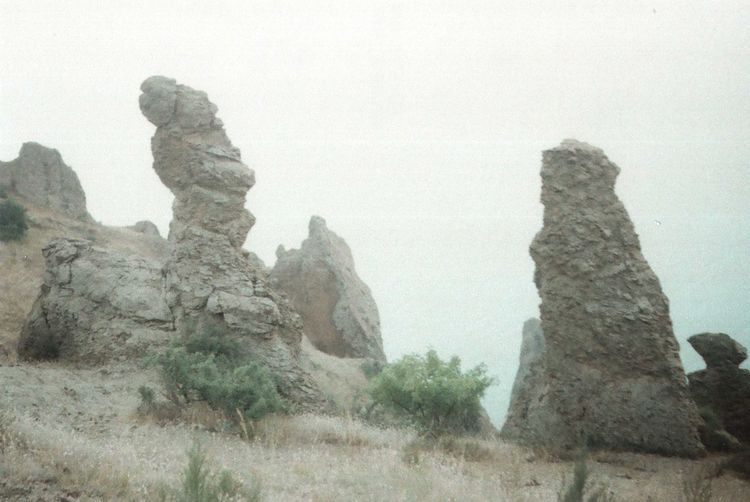 35mm Authentic Beauty In Nature Crimea Film Photography Geology Idyllic Landscape Mountain Mountains Nature Outdoors Rock Sea Sky Travel Traveling Unusual Wild Wildness Zenit