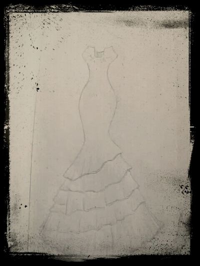 Check This Out! Wedding Dress My_design :) Drawings_sketches! &*^$#@!^/&*^$#@& :) ↓