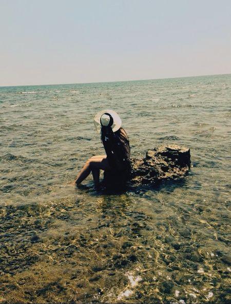 Capturing Freedom Free Sea Sea And Sky Rock Sitting Mermaid Hat Summertime