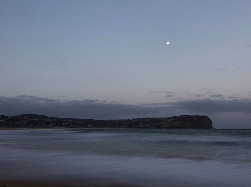 Moonrise Moon Sea Nature Scenics Beauty In Nature Sky Tranquility Tranquil Scene Water Night Astronomy No People Outdoors Horizon Over Water Star - Space