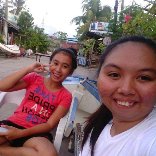 With her. Pinsan ProudToBeMe