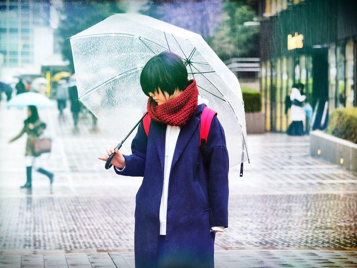 My rainy City