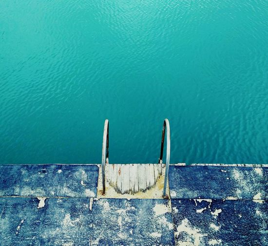 Sea Watercolor Diving Ladder To Nowhere Just Jump Missing Summer ☀