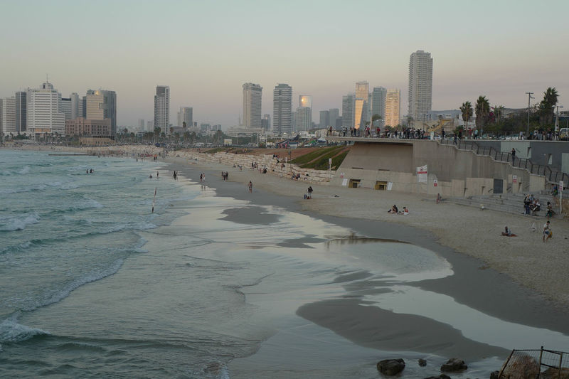 City Life Mediterranean Sea Miami Modern Statue Architecture Beach Beachphotography Built Structure City Line Israel Nature Outdoors People Sea Sky Sky Scraper Summer Sunset Tel Aviv