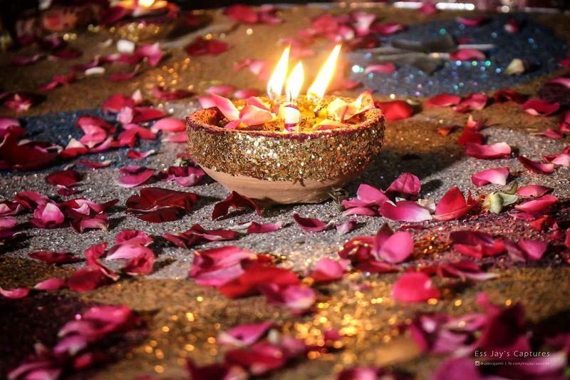 Candle Selective Focus Indoors  Glowing Close-up Candlelight Mehndi Rasmehina Mehndinight Mehndithaal Mehndiceremoney Islamabadweddings Weddingdiaries Islamabadphotographer Essjayscaptures Mehndicandles Indoor Photography