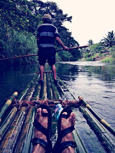 Bamboo kayak