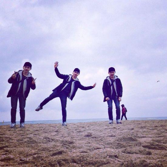 부산 Busan 해운대 Beach 겨울바다 예쁘고 조용하고 좋네요!