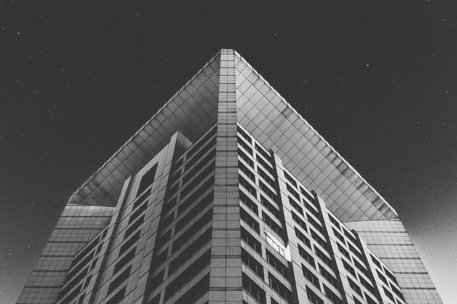 Nanchang Hangkong University library 南昌航空大学图书馆 Night Photography Night Sky Architecture Architecture_bw Architecture_collection University Campus