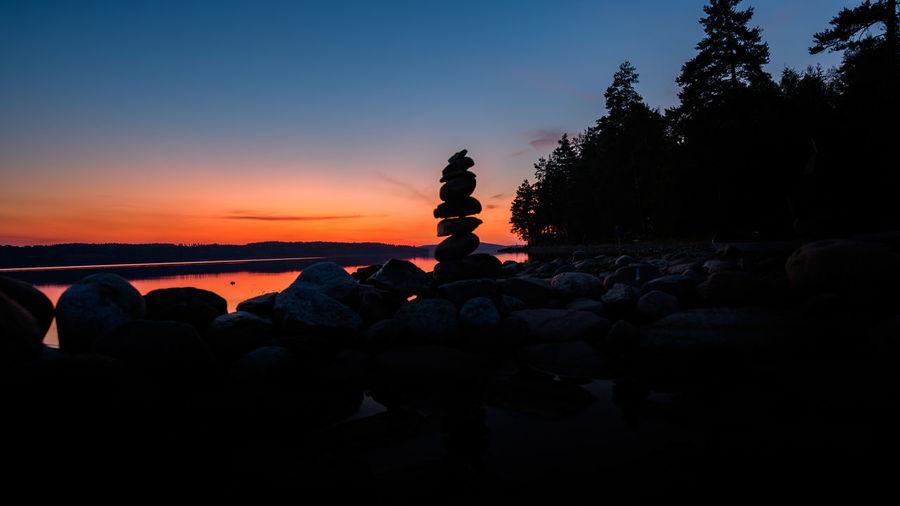 Sky Sunset Rock
