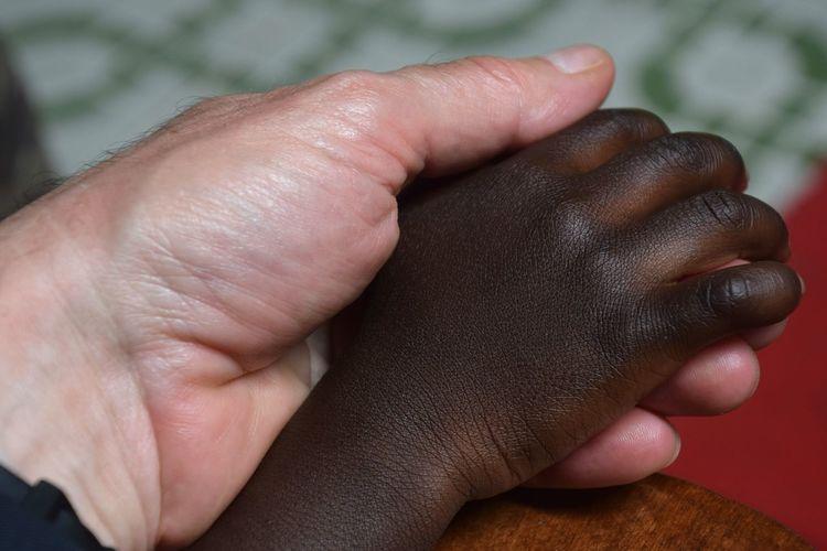Nyakatooma Uganda Solidarity Uganda  Africa Friendship Men Childhood Human Hand Fingernail Close-up Palm Children Preschooler Primary Age Child Body Part A New Beginning