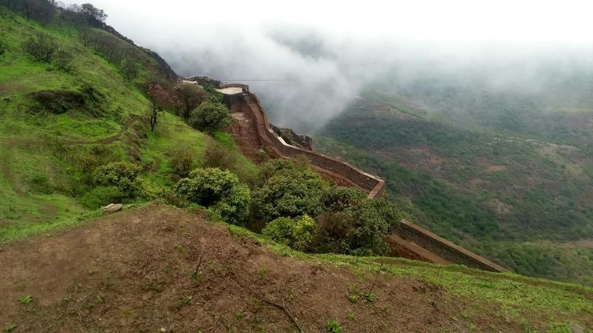 Amazing Rajgad Beauty In Nature Mountain Nature