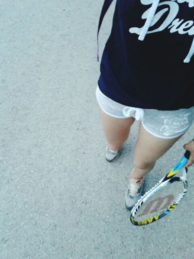 After Training Tennis <3 That's Me Wilson