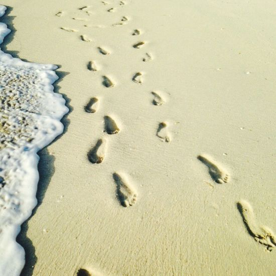 That's Me Footprints Sand Relaxing Taking Photos Enjoying Life Awesome Beauty Beautiful Foam