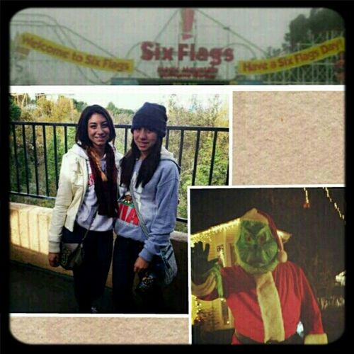 Six Flags Was A Success && So Was Candy Cane Lane With Ugly Iris <3