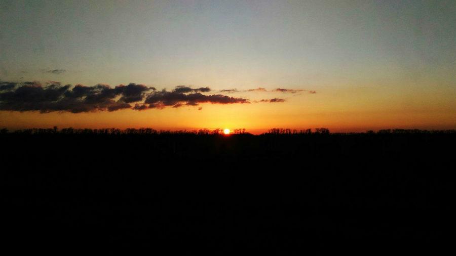 Beauty In Nature Dark Day And Night Minimalism Nature Romantic Sky Sky Sun Sundown Sunset Tranquility