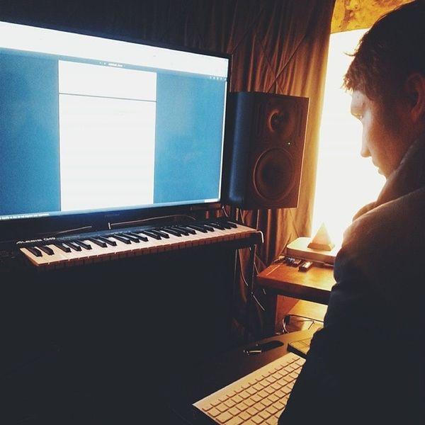 Here we go!... Backinthestudio Makingmusic Recording Blacklionaudio @mistahshmee