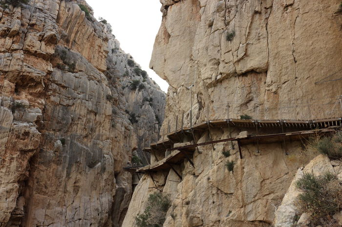 Alfonso XIII Caminito Del Rey Mountains Nature Nature Photography Nature_collection No People Outdoors Panoramic Photography Pantano Pasarelas Pasarelas Colgantes Rock Formation Rocky Mountains Scenics Sky Tranquil Scene