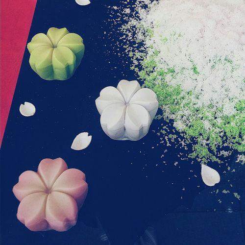 Japanese Desserts Japanese Sweets Japanese Culture Aesthetics Shinbashi, Minato Tokyo Sakura Theme Spring Theme Sakuramochi Food Foodphotography Eyeem Food  Eyeem Collection EyeEM Tokyo EyeEm Japan EyeEm Gallery Tokyoshinbashi2016 Tokyospring2016