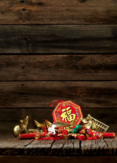 Chinese New Year Lunar New Year Good Luck Decoration Festive Wooden Table Luck Mascot Flat Lay Celebration Craft Firecrackers Ornament Gold China 2020 2019 Pig Minimal Sales Envelope Celebrations Flowers Lucky Tradition Symbol Red Fu Background Festival Spring Holiday Traditional Gold Culture Oriental Fortune Asian  ASIA Packet Plum Blossom Design Celebrate Greeting Prosperity Auspicious Money Happiness Firecracker Ingot Wood - Material Food And Drink Food Event No People Copy Space Christmas Indoors  Sweet Food Gold Colored Text Studio Shot Holiday - Event Art And Craft Gingerbread Cookie Ornate