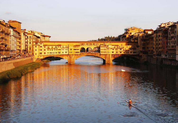 Scenic view of ponte vecchio