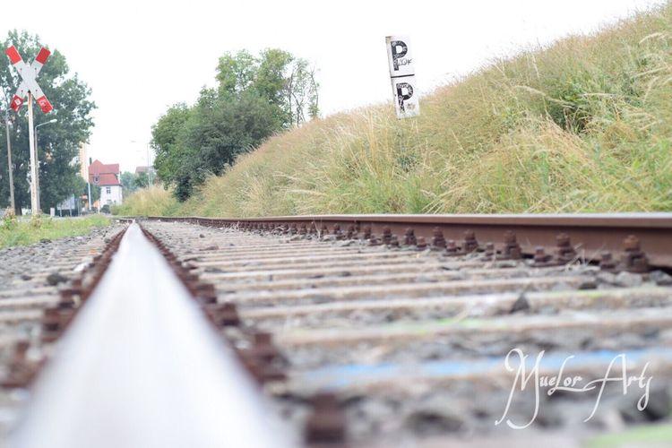 Railroad Erfurt Nature Muelorarts Old Train Lost Unbearbeitet