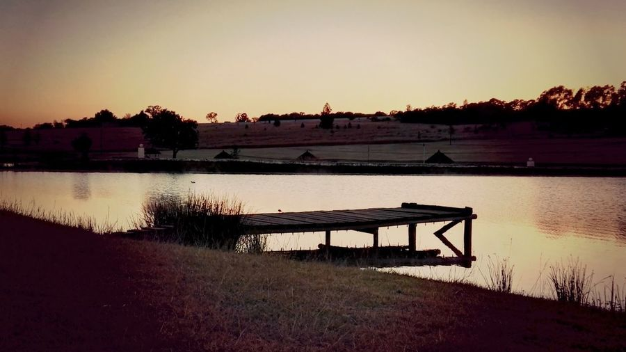 EyeEm Nature Lover Bass Fishing Sunrise_Collection Reeds By Water Cold Weather Landscape_Collection Jetty Structure Jetty View Jetty Wintertime Reeds In Water Winter On A Farm Farmland Muldersdrift, South Africa Eyeem Collection EyeEm Gallery EyeEm Best Shots - Landscape