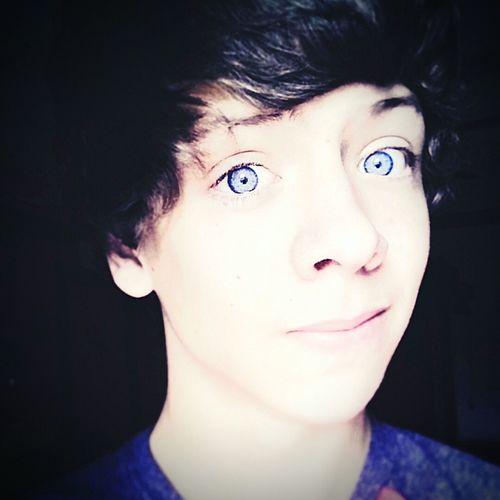 New account. Cute Blue Eyes <3 Boy First Eyeem Photo