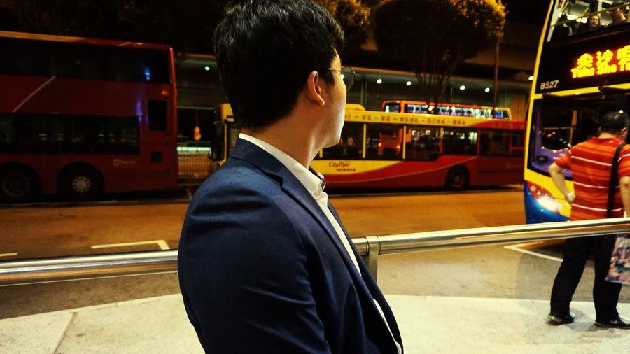 Hongkong Airport Nightbus Surprise! Enjoying Life wow
