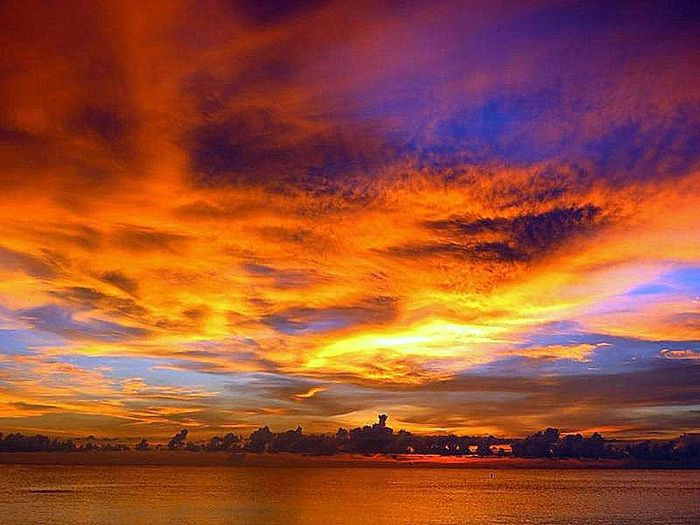 Atmosphere Atmospheric Mood Beauty In Nature Colorful Dusk Indian Rocks Beach Majestic Nature Orange Color Sky Sunset The MOST Beautiful Sky I Have Ever Seen!!! The Power Of Beauty.... Tranquil Scene Tranquility
