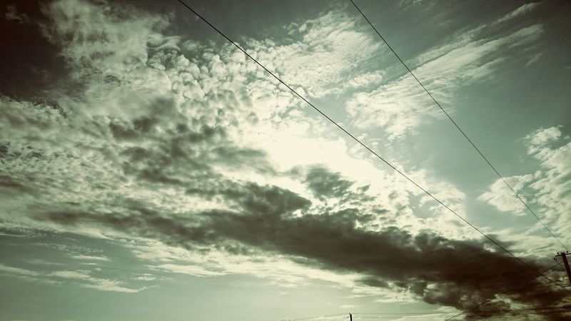 Sky Morning Clouds And Sky Relaxing Hello World