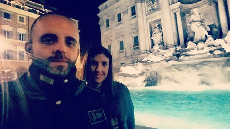Atwork Loveatwork Worknight WorkNightOut Rome Trevi TreviFountain Fontanaditrevi Igers Instamoment Instant Istante Love Withyou Onlyus Us Italy Instagramers Photooftheday Instaphoto