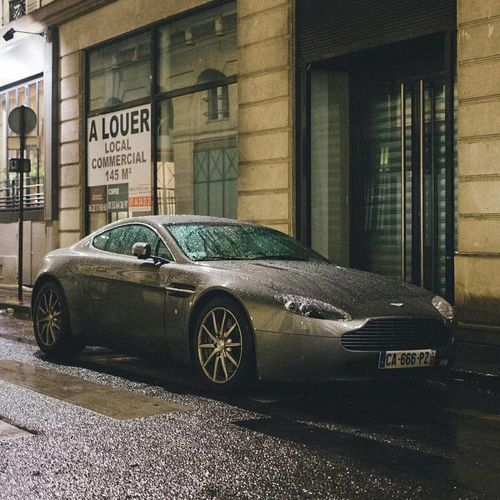Aston Martin V8 Vantage Aston Martin Vantage V8 Riot Land Vehicle Car Old-fashioned Architecture