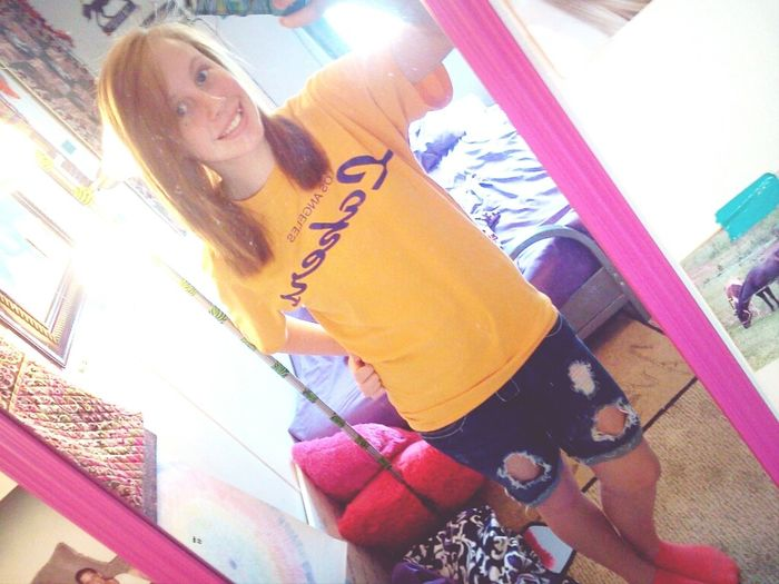 •It's A Shorts Kinda Day. (:
