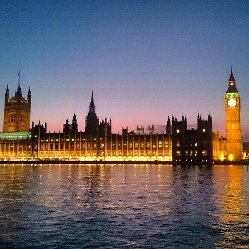 Classic London shot London Bigben View Scenery The city Thethames Dusk Skyline Beauty Lights Reflection Shotbymysister Sky 50shadesofsky