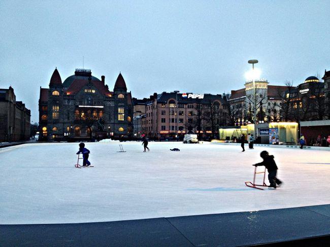 Beautiful Winter Taking Photos Helsinki