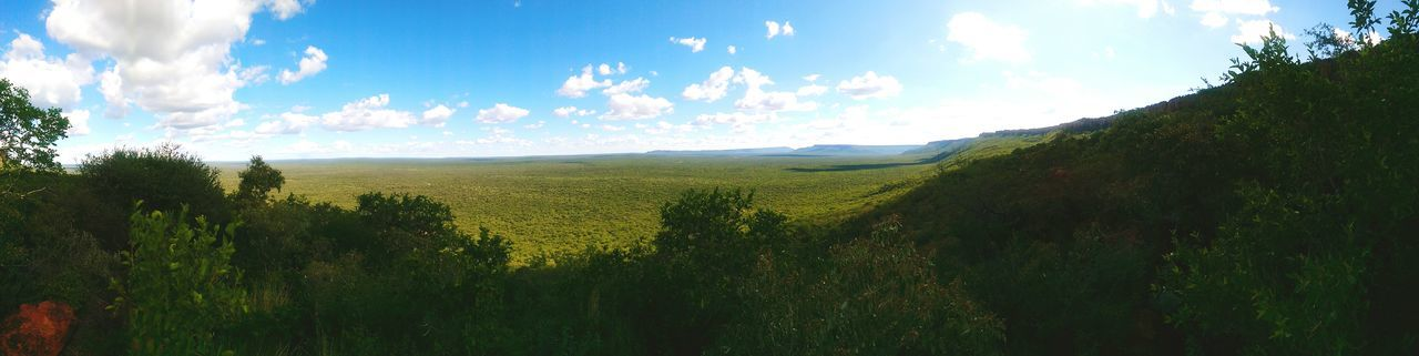 Panoramic view of Waterberg. View Panorama Hello World Taking Photos Check This Out Sky And Clouds Waterburg Namibia Namibia Landscape
