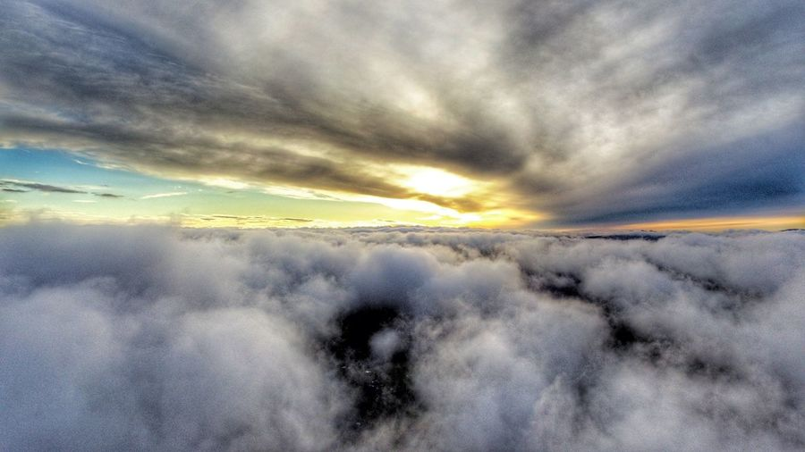 Darryn Doyle Dronephotography Dronefly Drone Shot Astronomy Water Sunset Space Motion Cold Temperature Ethereal Dramatic Sky Rural Scene Sky Sky Only Infinity Heaven Cumulus Cloud Moody Sky Fluffy