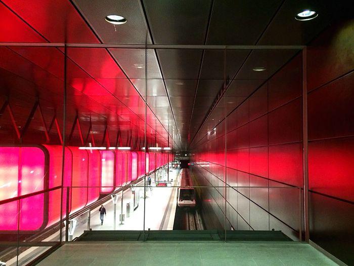 Underground walkway