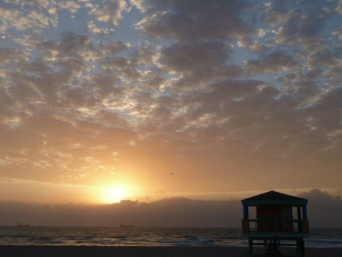 früh morgens in Miami