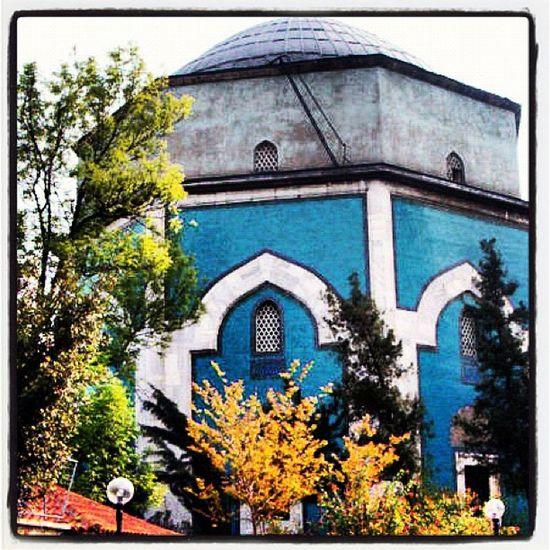Yıldırım Bayezid'in oğlu Sultan Mehmet Çelebi tarafından 1421 yılında yaptırılmıştır. Mimarı Hacı İvaz Paşa'dır. Bursa'nın sembolü haline gelen yapı şehrin her yerinden görülebilecek bir konuma sahiptir. I. Mehmet Çelebi sağlığında türbeyi yaptırmış, 40 gün sonra da vefat etmiştir. Türbede Çelebi Sultan Mehmet ile oğulları Şehzade Mustafa, Mahmut ve Yusuf ile kızları Selçuk Hatun, Sitti Hatun, Ayşe Hatun ve dadısı Daya Hatuna ait olmak üzere toplam 8 sanduka bulunmaktadır. Dışardan bakıldığında tek katlı görünen türbe, sandukaların bulunduğu salon ve bunun altında yer alan beşik tonuzlu mezar odasıyla beraber iki katlıdır. Dış duvarlar turkuaz çinilerle kaplıdır. Türbenin içi, sandukalar, mihrab, duvarlar, cümle kapisi ile cephe kaplamaları da çiniden yapılmıştır. Kıbleye bakan mihrabı bir sanat eseridir. Buradaki çiniler İznik çiniciliğinin şaheser örnekleridir. Evliya Çelebi'nin gezi yazılarında da türbe ile ilgili bilgi yer almaktadır. Ancak türbeyle ilgili bahis; içinde medfun bulunan Çelebi Sultan Mehmet Han'ın yaşamı üzerinden ele alınmakta, mimari hakkında olarak özel bir bilgi verilmemektedir. Bununla birlikte metinden yapının o dönemde yeşil imaret adı ile anılmakta olduğu öğrenilmektedir. '824 senesinde vefat etti. Yedi sene, on bir ay, on iki gün padişahlık yaptı. Vefat ettiğinde 38 yaşında idi. Kabri, Yeşil İmaret adıyla bilinen külliye içindeki nurlu camiinin kıble tarafında bulunan nakışlı kubbe altındadır.' (Basri Öcalan, 2008)